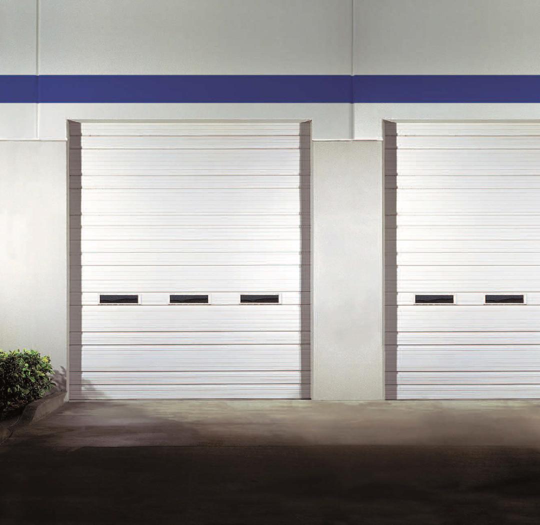 Clopay Ribbed Steel Doors