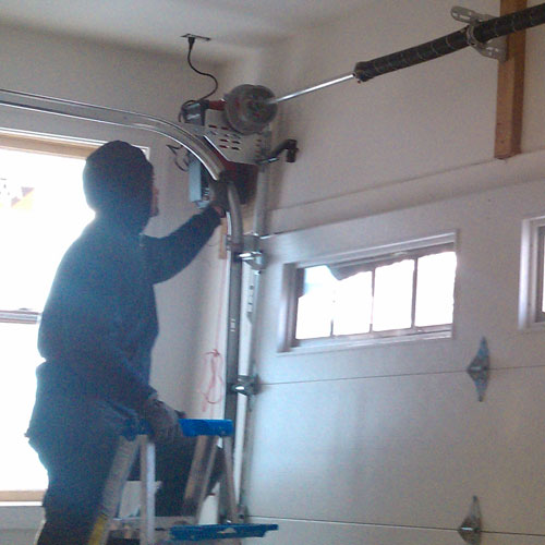 Garage Parts Department