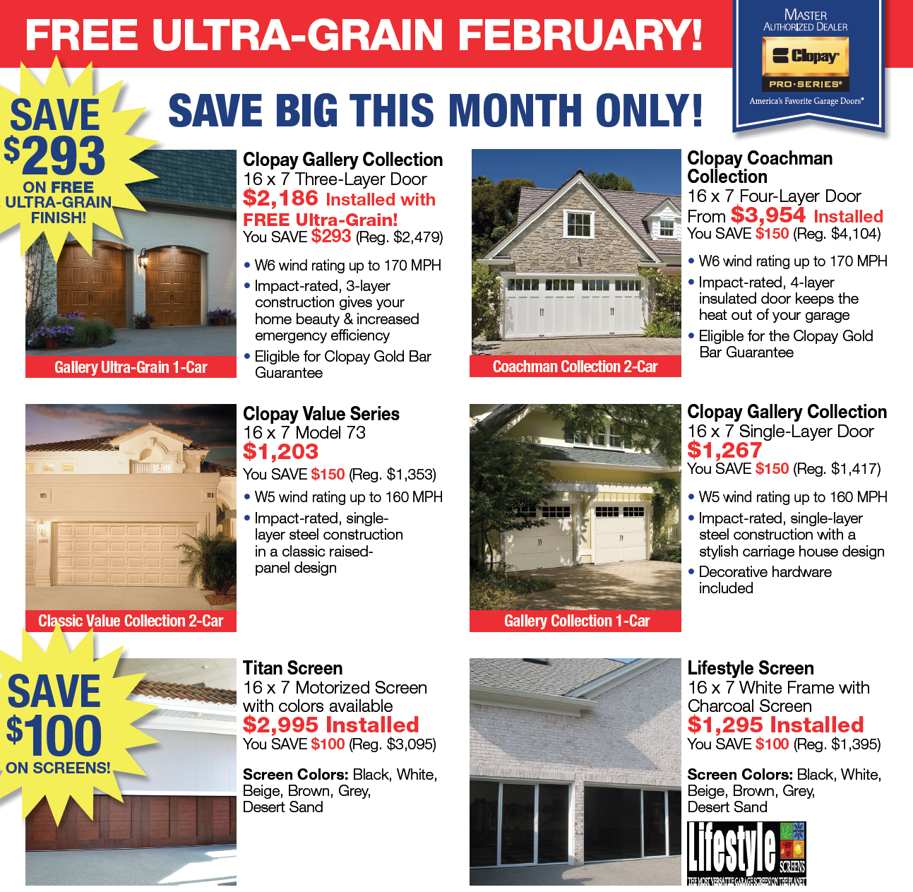 Feb 2017 Promo Free Ultra Grain