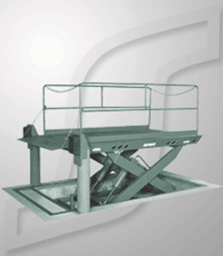 Serco Scissors Dock Lift Model SDL68-5
