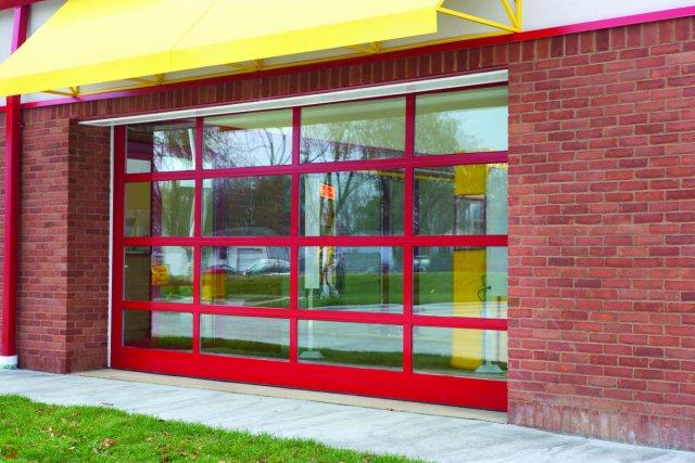 Wayne-Dalton's Aluminum Full-View Doors 452