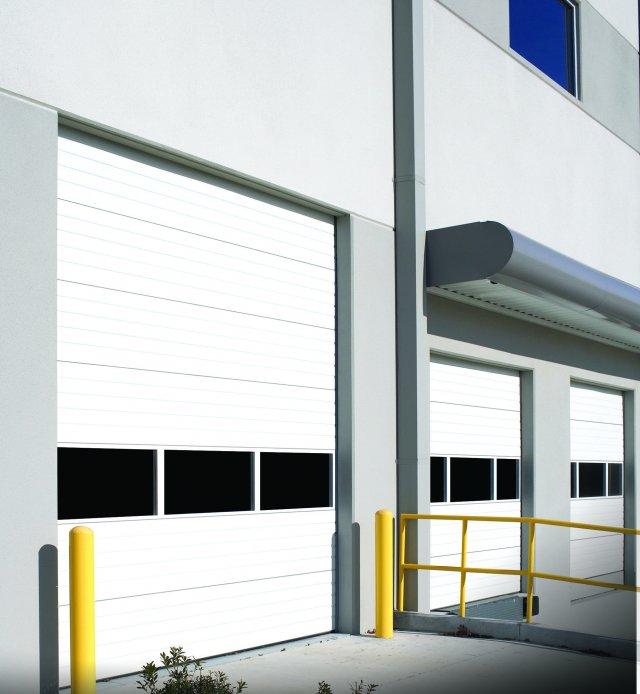 Wayne-Dalton C-2400 steel sectional door