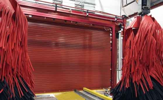 Wayne Dalton - Model 800c Thermotite Rolling Steel Service Door