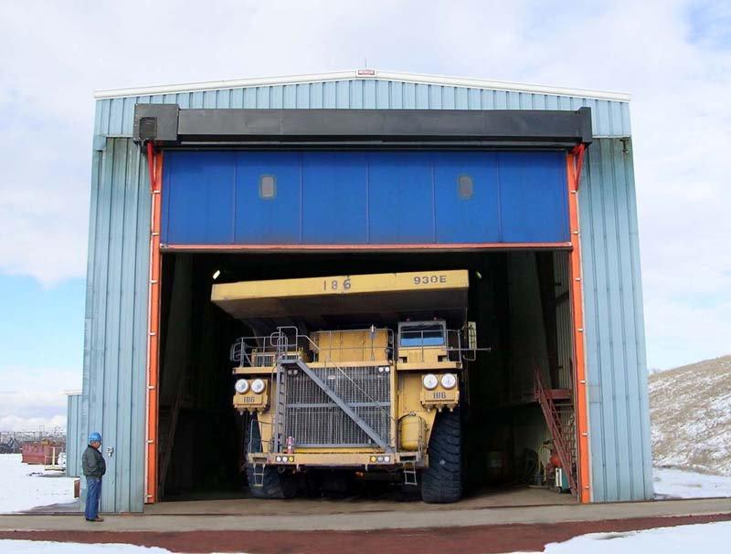 Albany M&I Ultra Big Extreme Duty High Speed Door 239