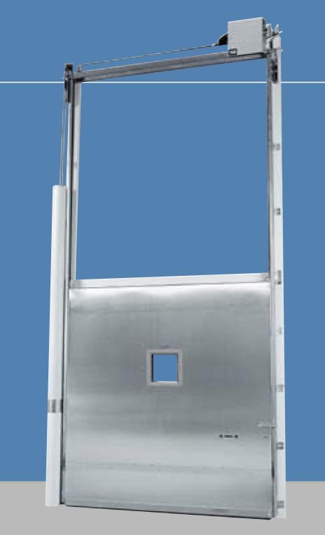 Hercules Heavy Duty Vertical Sliding Door 83