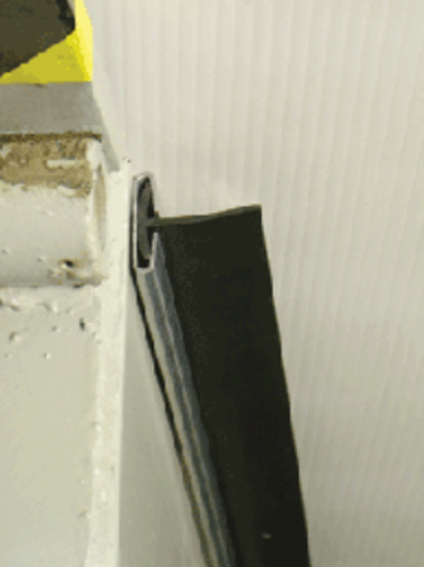 APS Dockleveler T-Track PVC Weather Seal
