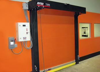Rytec Turbo Seal Door 156