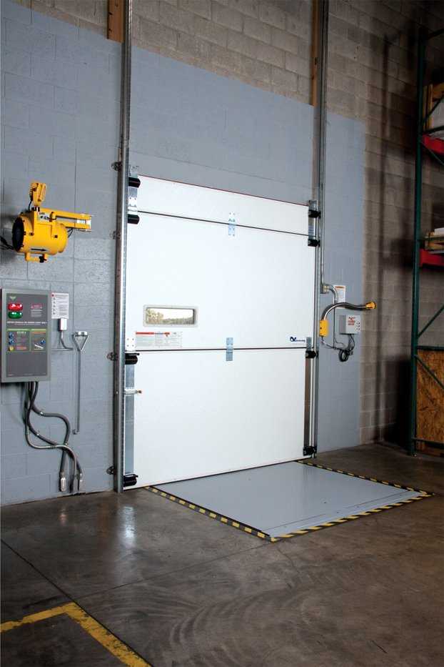 TKO VertaCool Cold Storage Dock Door 329