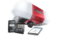 85503 Secure View™ DC Battery Backup Belt Drive Wi-Fi® Garage Door Opener