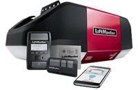 WLED DC Battery Backup Belt Drive LED Wi-Fi Garage Door Opener