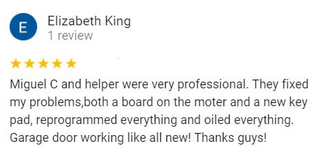 Elizabeth king review